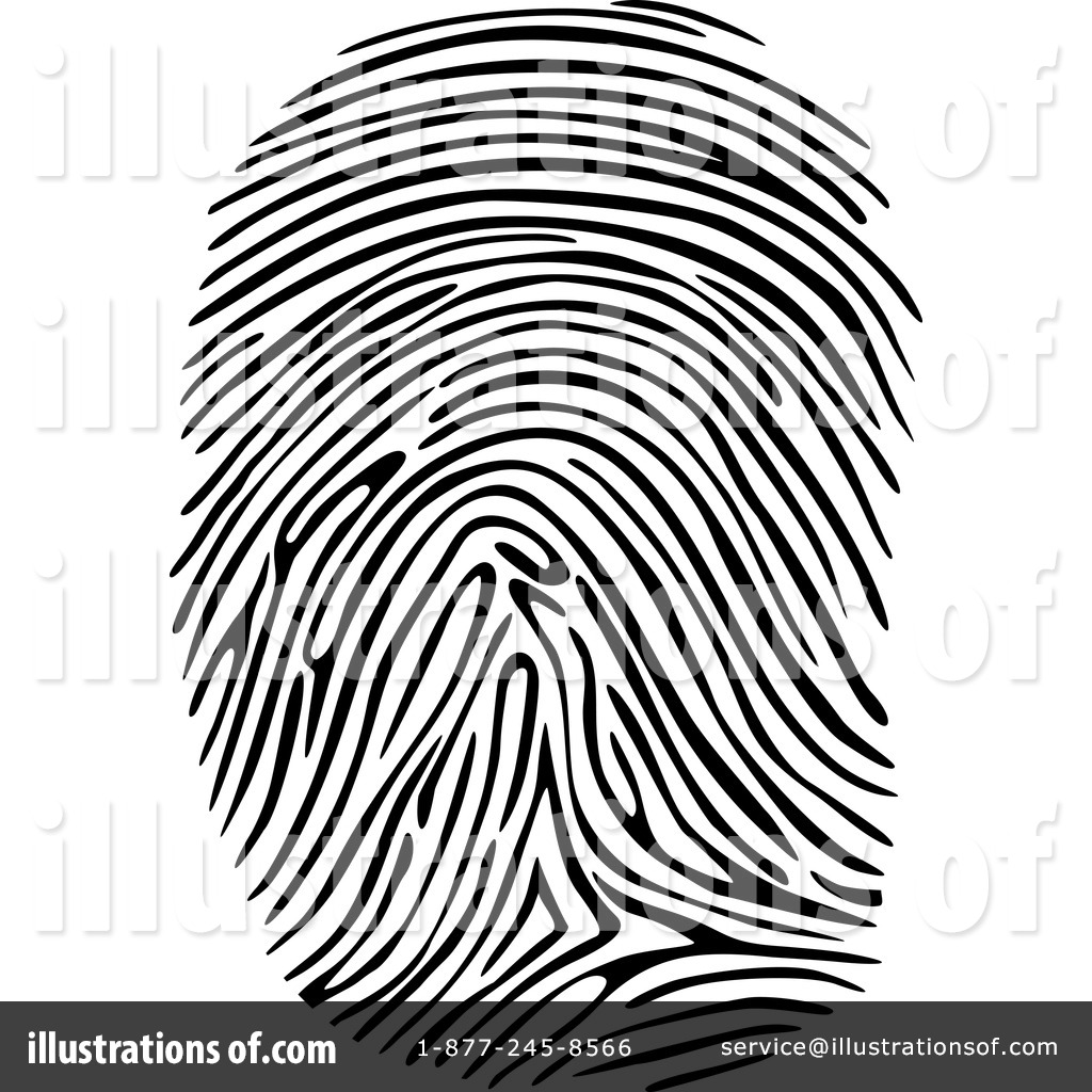 Royalty-Free (RF) Fingerprint Clipart Illustration by Vector Tradition SM - Stock Sample