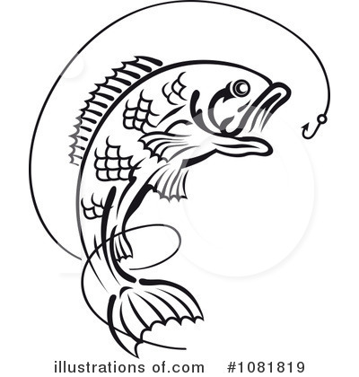 Royalty-Free (RF) Fishing Clipart Illustration by Vector Tradition SM - Stock Sample