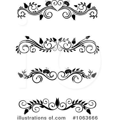 Royalty-Free (RF) Flourishes  - Flourishes Clipart