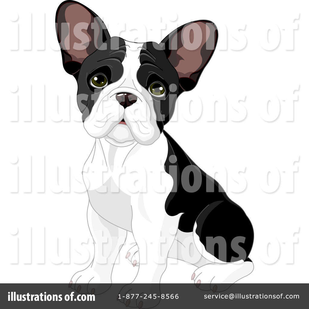 Royalty-Free (RF) French Bulldog Clipart-Royalty-Free (RF) French Bulldog Clipart Illustration #1091957 by Pushkin-18