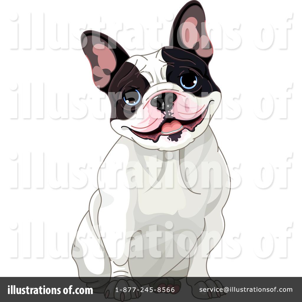 Royalty-Free (RF) French Bulldog Clipart-Royalty-Free (RF) French Bulldog Clipart Illustration #1099412 by Pushkin-17