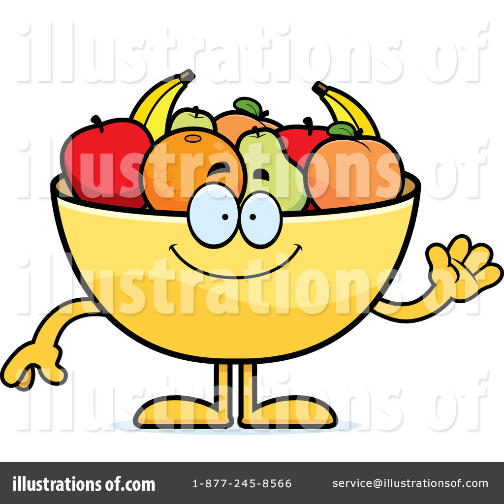 Royalty-Free (RF) Fruit Bowl Clipart Illustration by Cory Thoman - Stock Sample