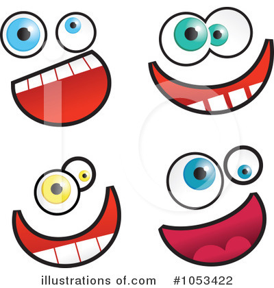 Royalty-Free (RF) Funny Face Clipart Illustration #1053422 by Prawny