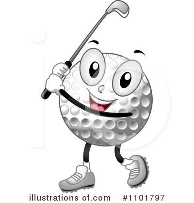 Royalty-Free (RF) Golf Clipar - Golfing Clipart