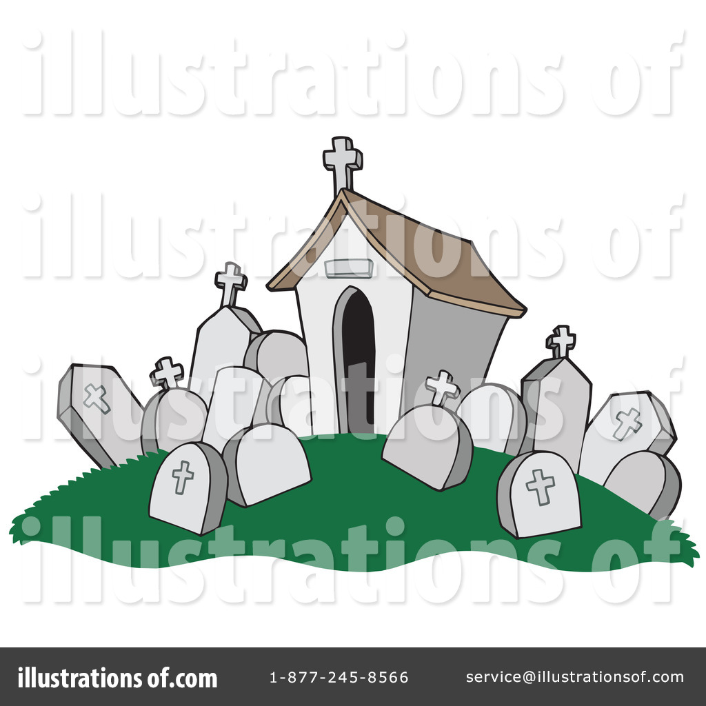 Royalty-Free (RF) Graveyard Clipart Illustration #213200 by visekart
