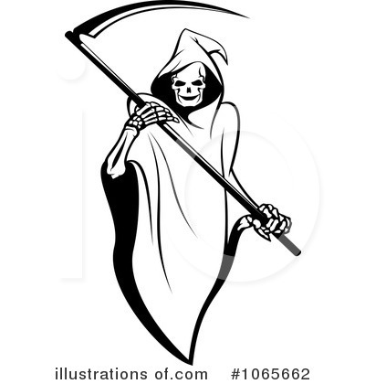 Royalty-Free (RF) Grim Reaper Clipart Il-Royalty-Free (RF) Grim Reaper Clipart Illustration #1065662 by Vector Tradition SM-13