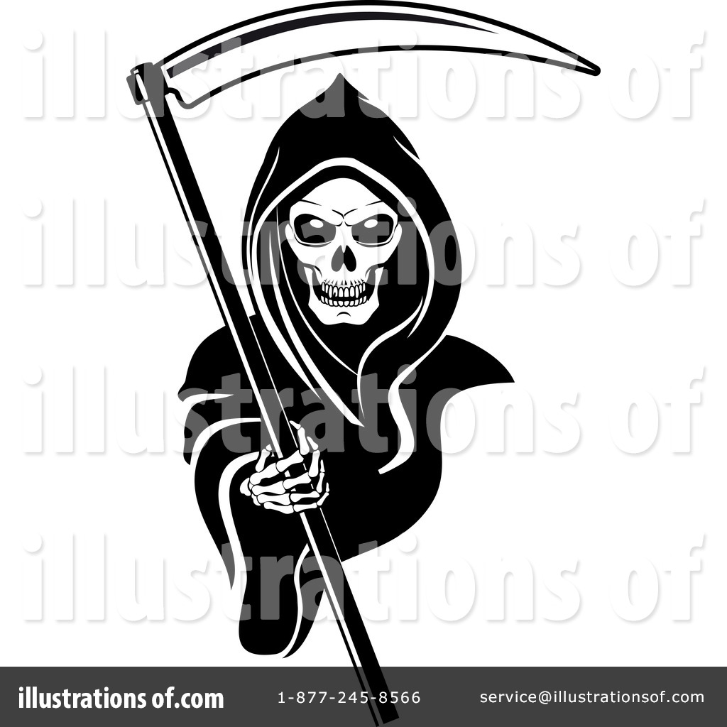 Royalty-Free (RF) Grim Reaper Clipart Il-Royalty-Free (RF) Grim Reaper Clipart Illustration #1065873 by Vector Tradition SM-16