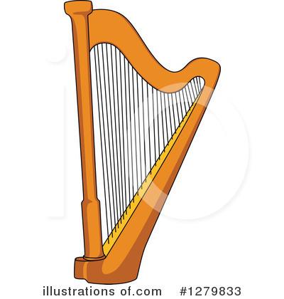 Yellow Harp Clipart