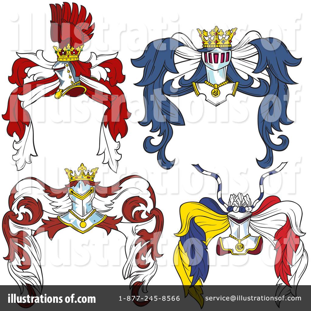 Royalty-Free (RF) Heraldry Clipart Illus-Royalty-Free (RF) Heraldry Clipart Illustration #51937-19