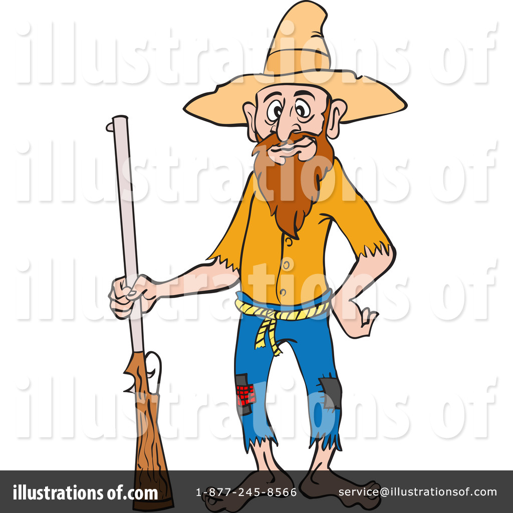 Royalty-Free (RF) Hillbilly Clipart Illustration #1215643 by LaffToon