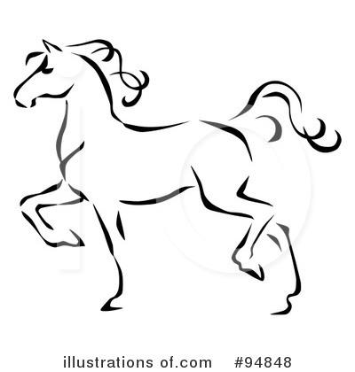 Royalty-Free (RF) Horse .