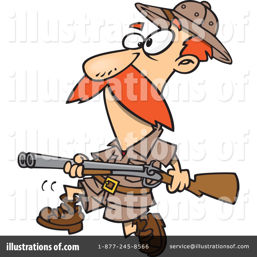 Royalty-Free (RF) Hunter Clipart Illustr-Royalty-Free (RF) Hunter Clipart Illustration #1063554 by Ron Leishman-8