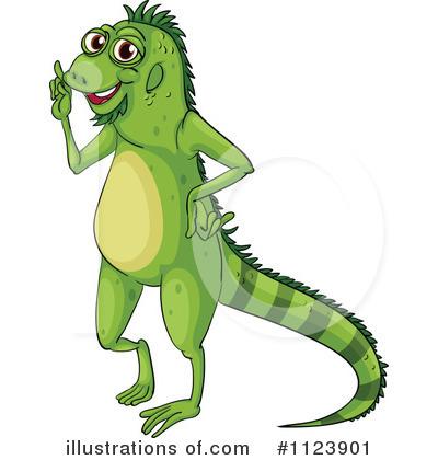 Royalty-Free (RF) Iguana Clipart Illustr-Royalty-Free (RF) Iguana Clipart Illustration #1123901 by colematt-17