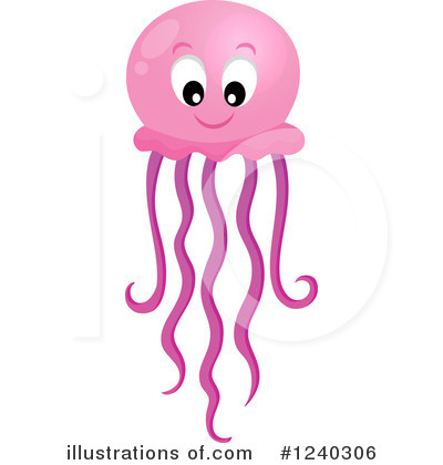 Royalty-Free (RF) Jellyfish C - Jelly Fish Clipart