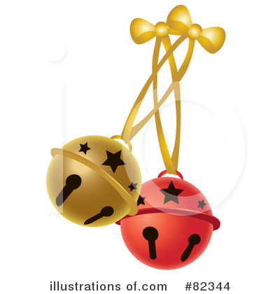 Royalty-Free (RF) Jingle Bells Clipart Illustration by Pams Clipart - Stock Sample