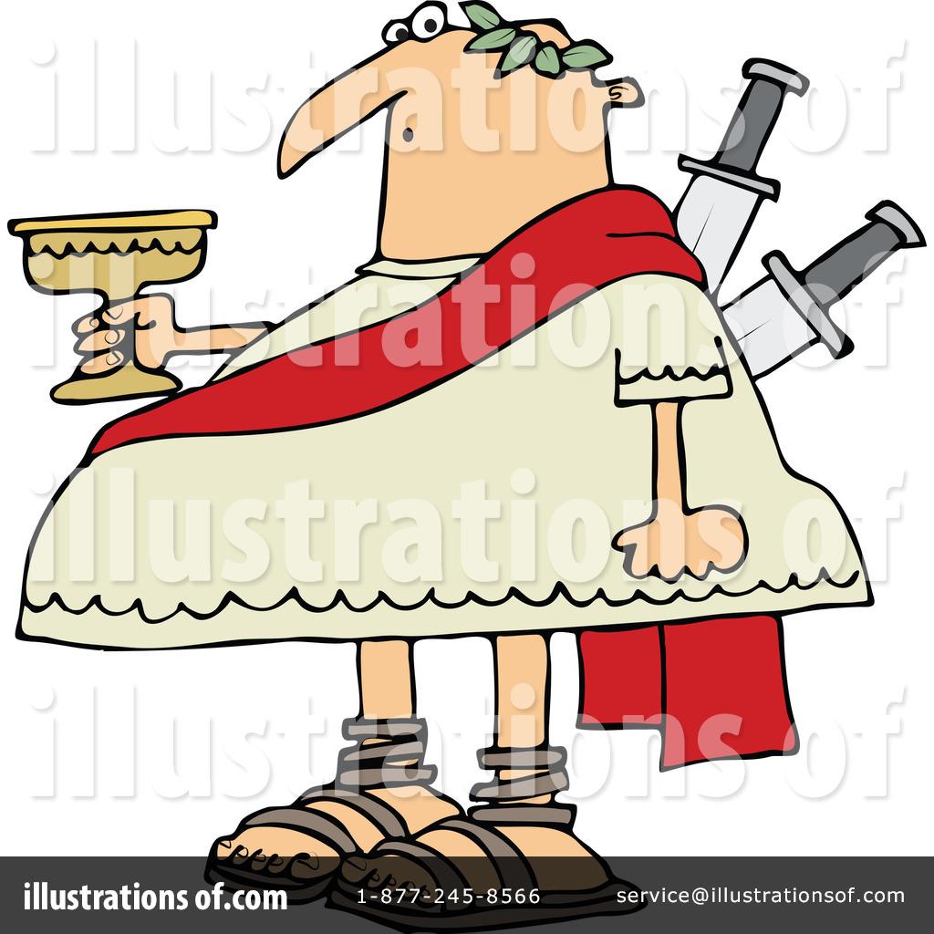 Royalty-Free (RF) Julius Caesar Clipart Illustration by Dennis Cox - Stock Sample