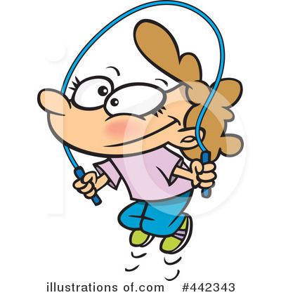 Royalty-Free (RF) Jump Rope Clipart Illu-Royalty-Free (RF) Jump Rope Clipart Illustration by Ron Leishman - Stock Sample-15