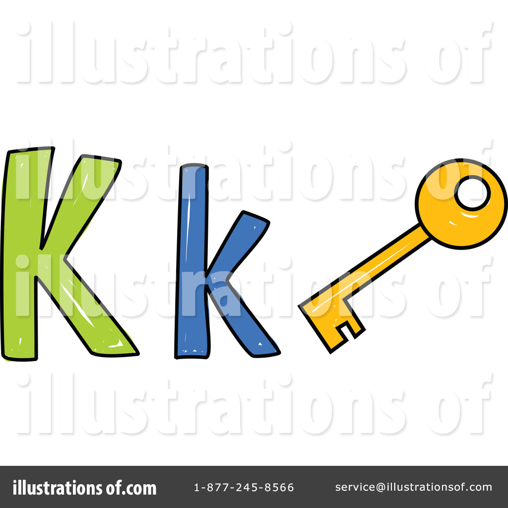 Royalty-Free (RF) Letter K Clipart Illus-Royalty-Free (RF) Letter K Clipart Illustration #215651 by Prawny-11