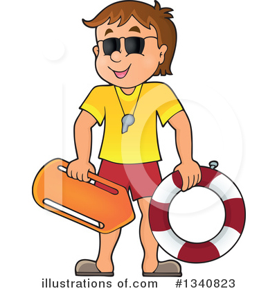 Royalty-Free (RF) Lifeguard Clipart Illu-Royalty-Free (RF) Lifeguard Clipart Illustration #1340823 by visekart-18