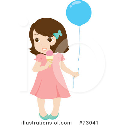Royalty-Free (RF) Little Girl Clipart Illustration by Rosie Piter - Stock Sample