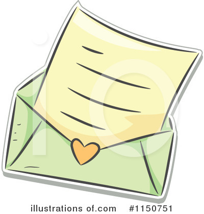 Royalty-Free (RF) Love Letter Clipart Il-Royalty-Free (RF) Love Letter Clipart Illustration #1150751 by BNP Design Studio-19