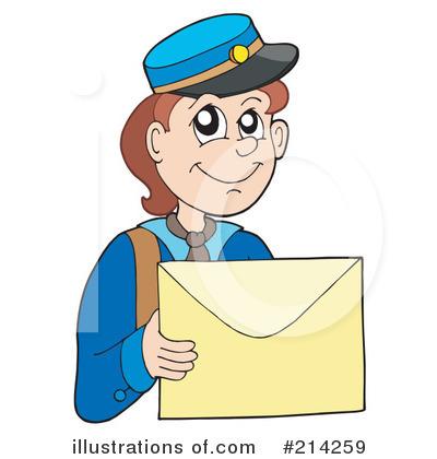 Royalty-Free (RF) Mailman Clipart Illustration #214259 by visekart
