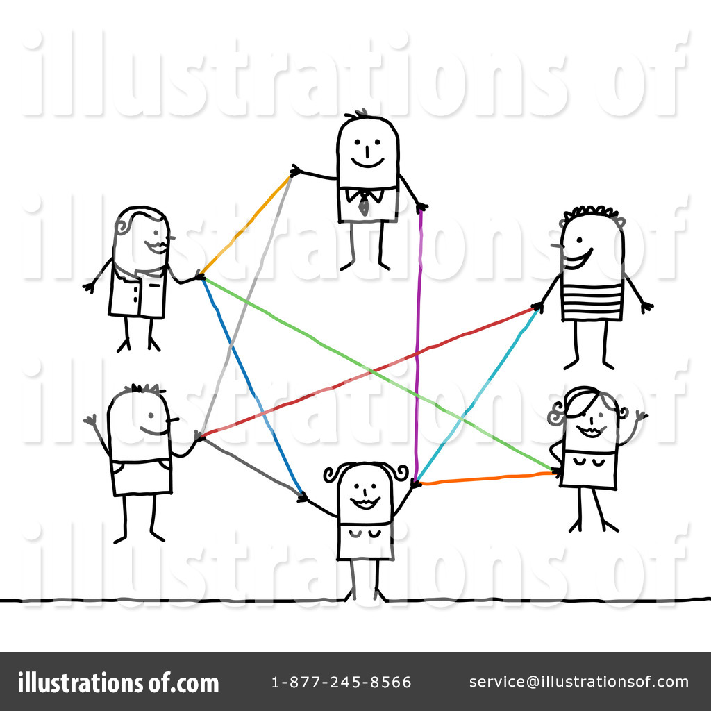Royalty-Free (RF) Networking Clipart Illustration #1214152 by NL shop