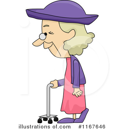 Royalty-Free (RF) Old Woman .