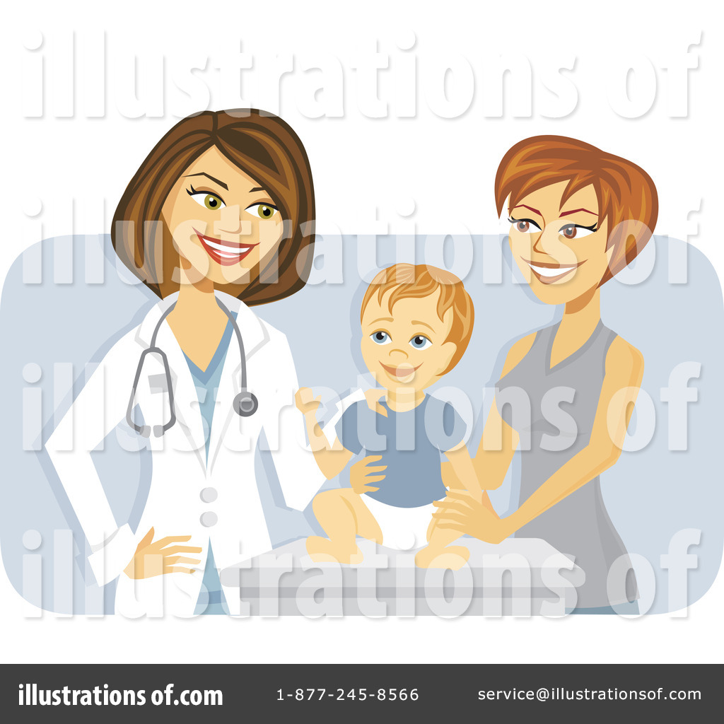 Royalty-Free (RF) Pediatrician Clipart I-Royalty-Free (RF) Pediatrician Clipart Illustration #1107513-11