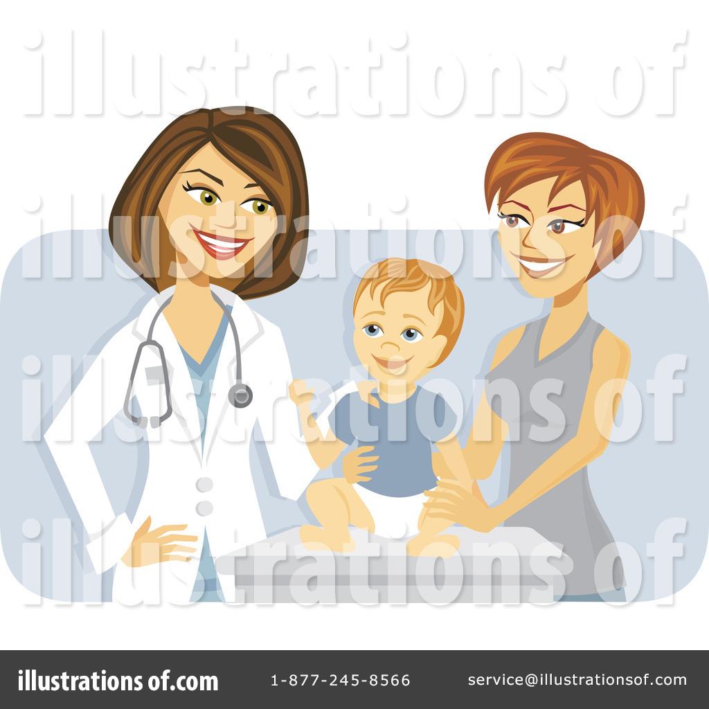 Royalty-Free (RF) Pediatricia - Pediatrician Clipart