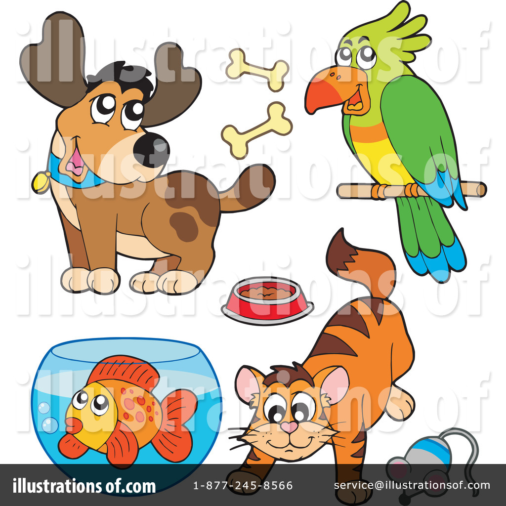Royalty-Free (RF) Pets Clipart Illustrat-Royalty-Free (RF) Pets Clipart Illustration #212018 by visekart-14