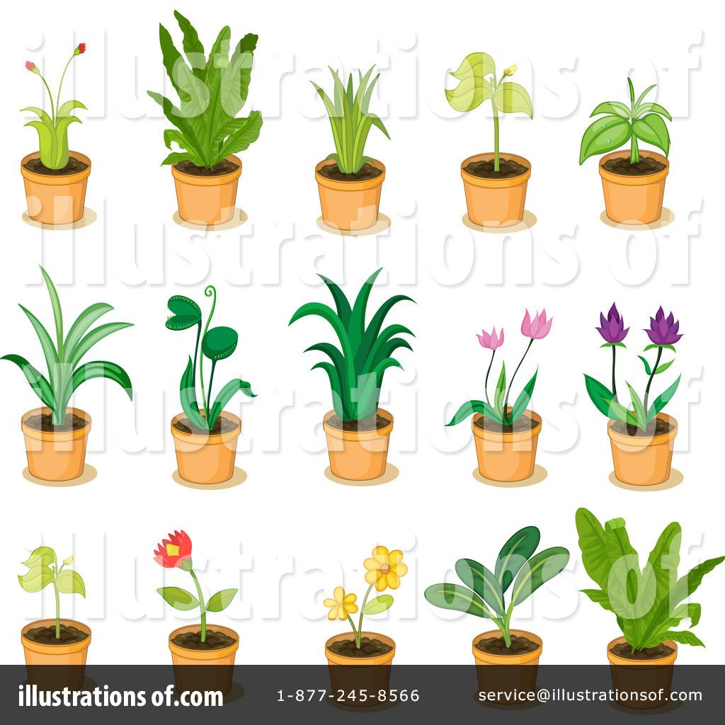 Royalty-Free (RF) Plants Clipart Illustration #1124082 by colematt