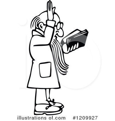 Royalty-Free (RF) Preacher Clipart Illus-Royalty-Free (RF) Preacher Clipart Illustration #1209927 by Prawny-14