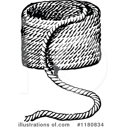 Royalty-Free (RF) Rope Clipart Illustration #1180834 by Prawny Vintage