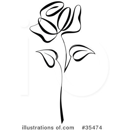 Royalty-Free (RF) Rose Clipart .