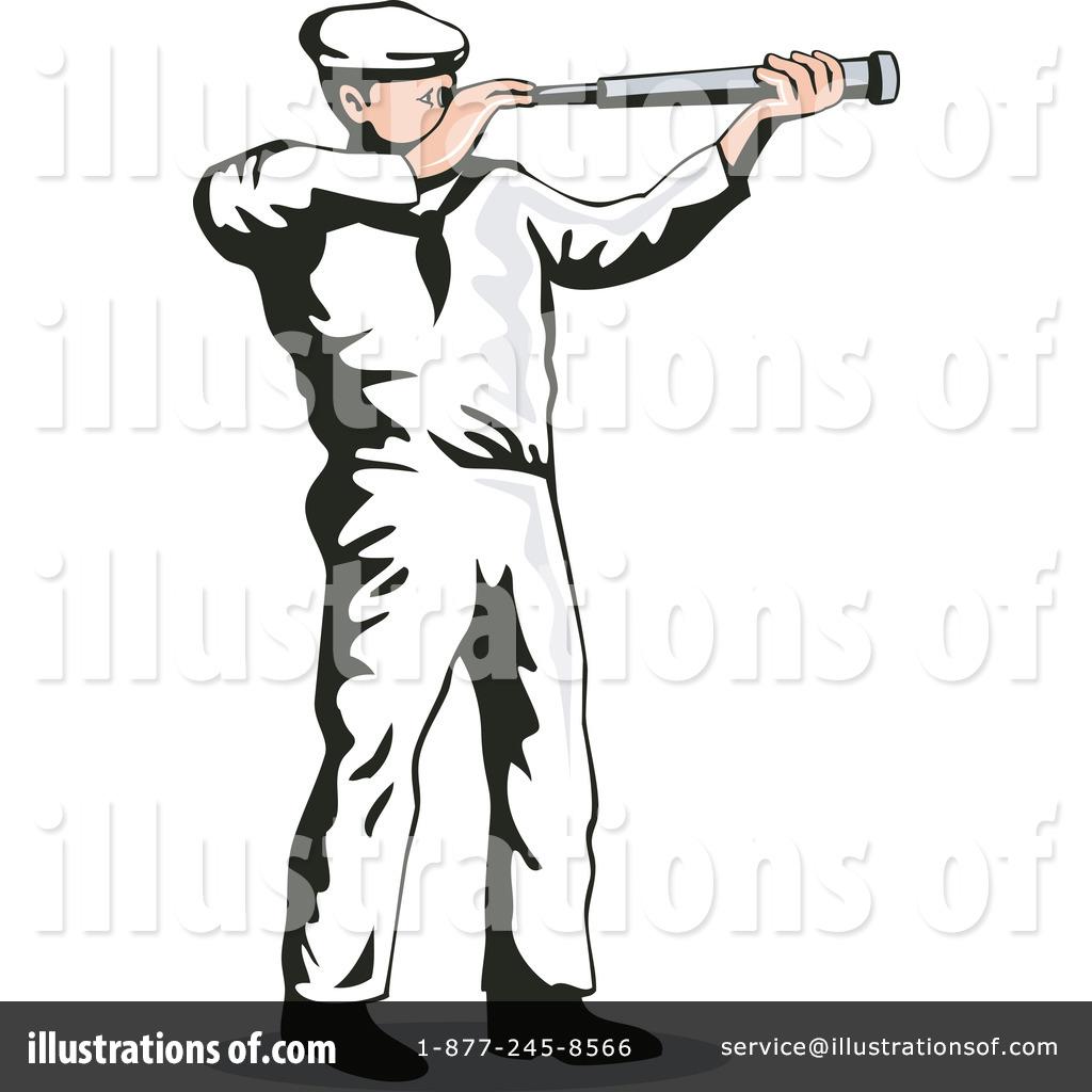Royalty-Free (RF) Sailor Clipart Illustration #1145690