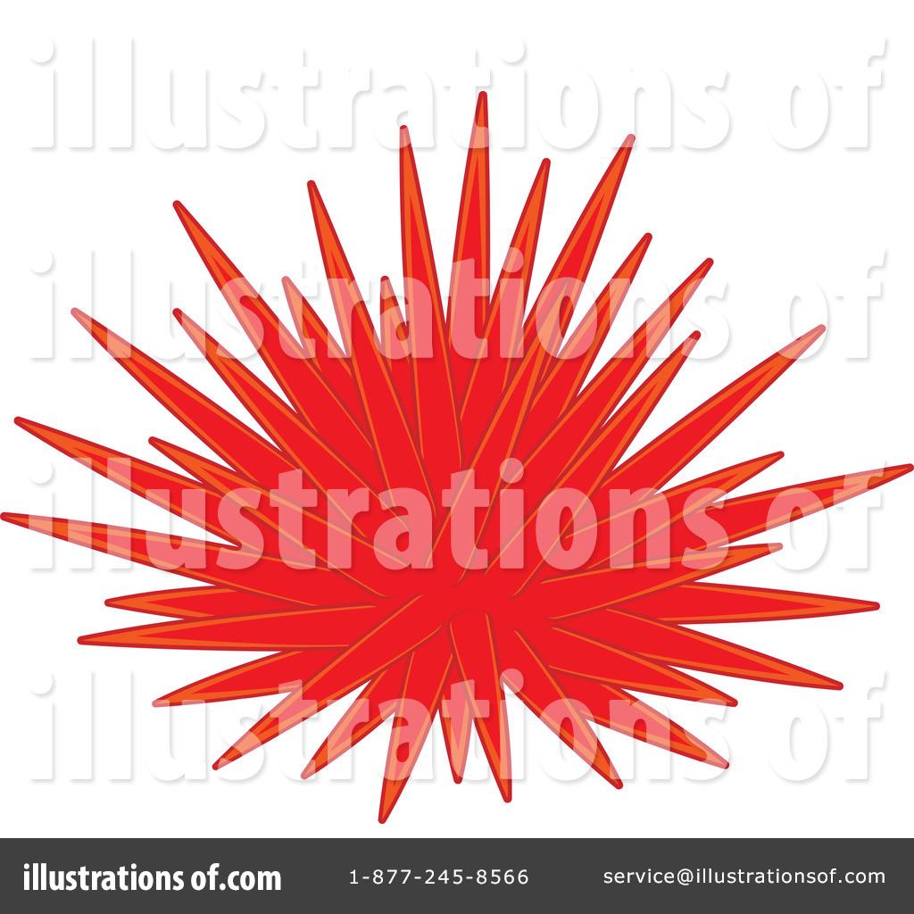 Royalty-Free (RF) Sea Urchin Clipart Illustration by Alex Bannykh - Stock Sample