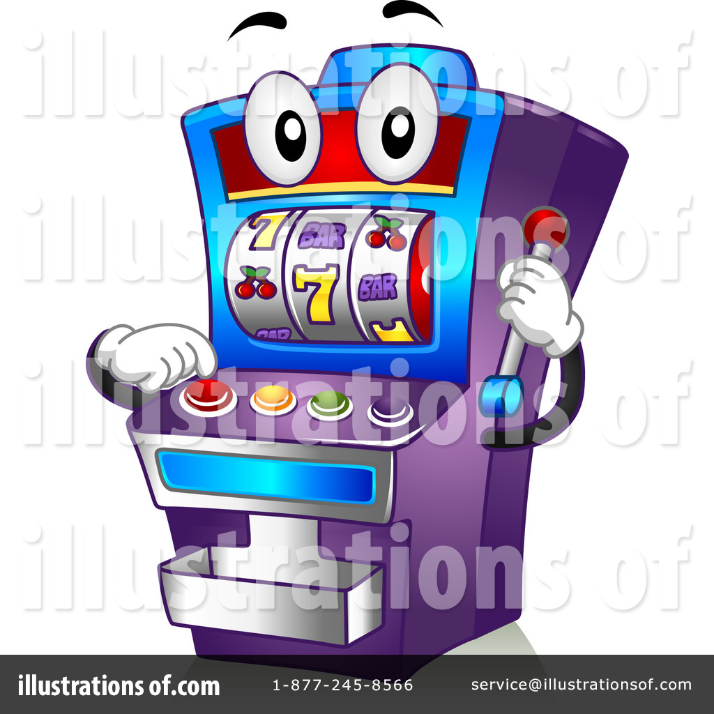 Royalty-Free (RF) Slot Machine Clipart Illustration #1108956 by BNP Design Studio