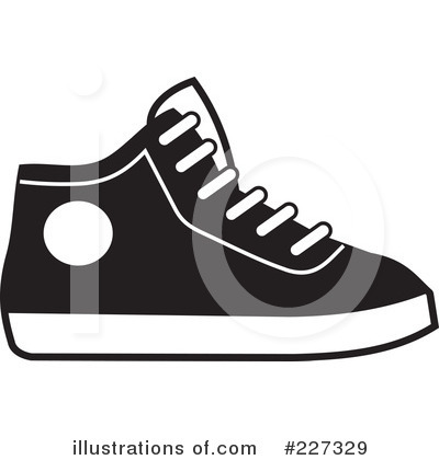 Royalty-Free (RF) Sneakers Clipart Illus-Royalty-Free (RF) Sneakers Clipart Illustration #227329 by Johnny Sajem-8