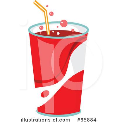 Royalty-Free (RF) Soda Clipart Illustration #65884 by Prawny