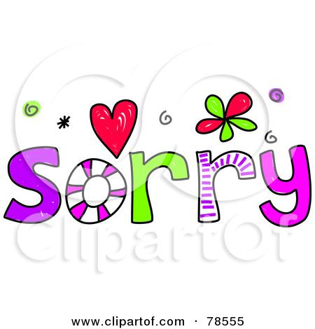 Royalty Free (RF) Sorry Clipart, Illustr-Royalty Free (RF) Sorry Clipart, Illustrations, Vector Graphics #1-7