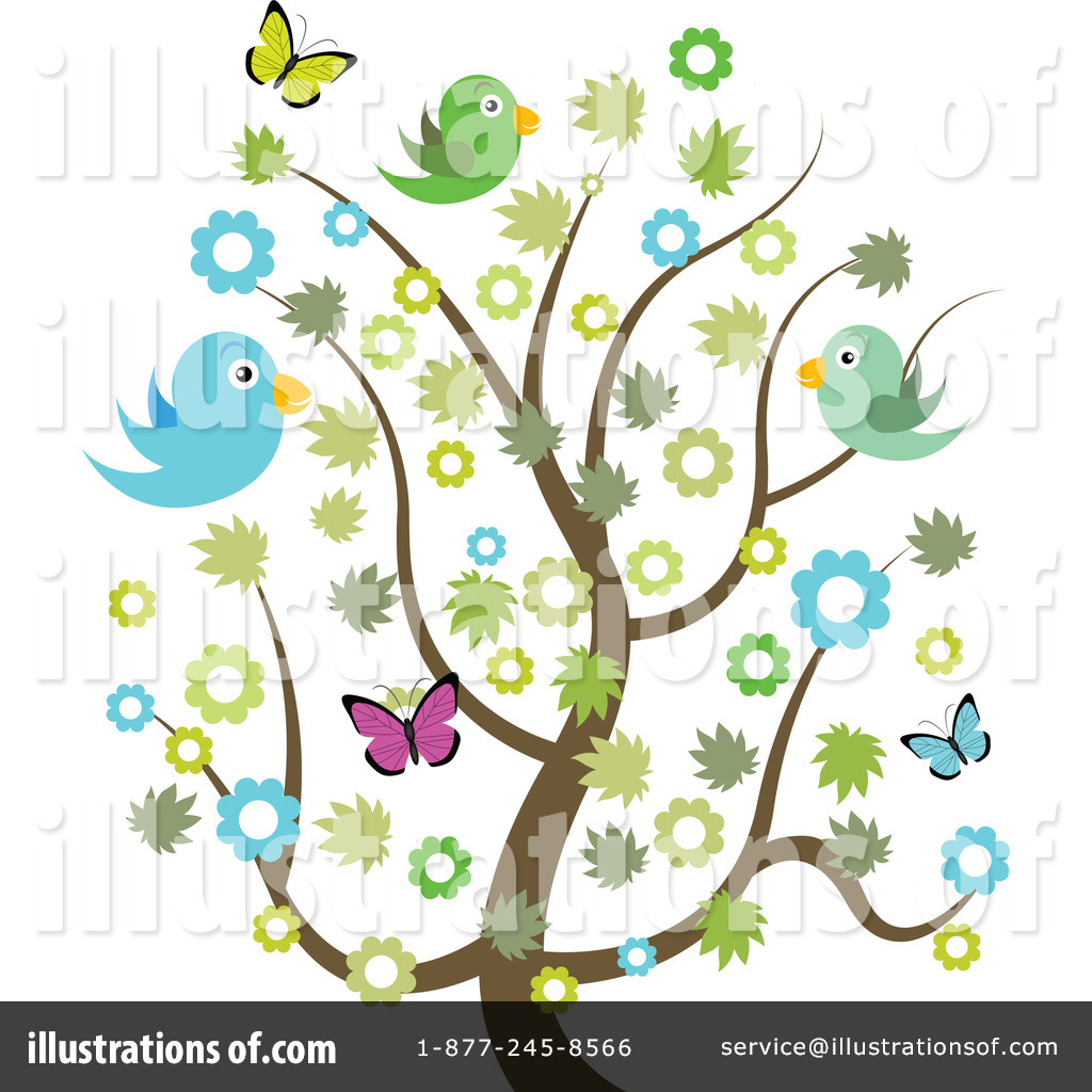 Royalty-Free (RF) Spring Time Clipart Illustration #1058984 by vectorace