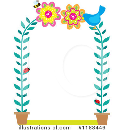 Royalty-Free (RF) Spring Time Clipart Illustration by Maria Bell - Stock Sample