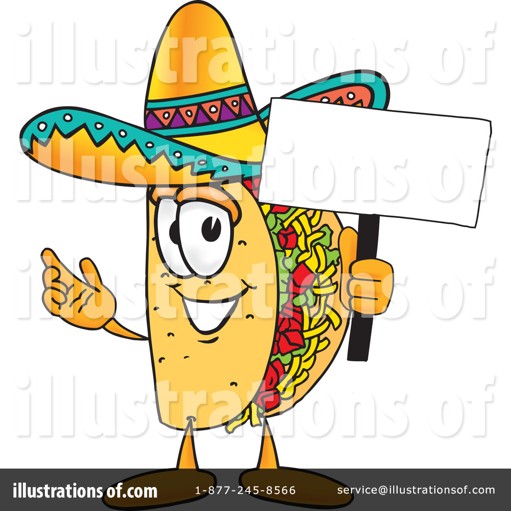 Royalty-Free (RF) Taco Clipart .