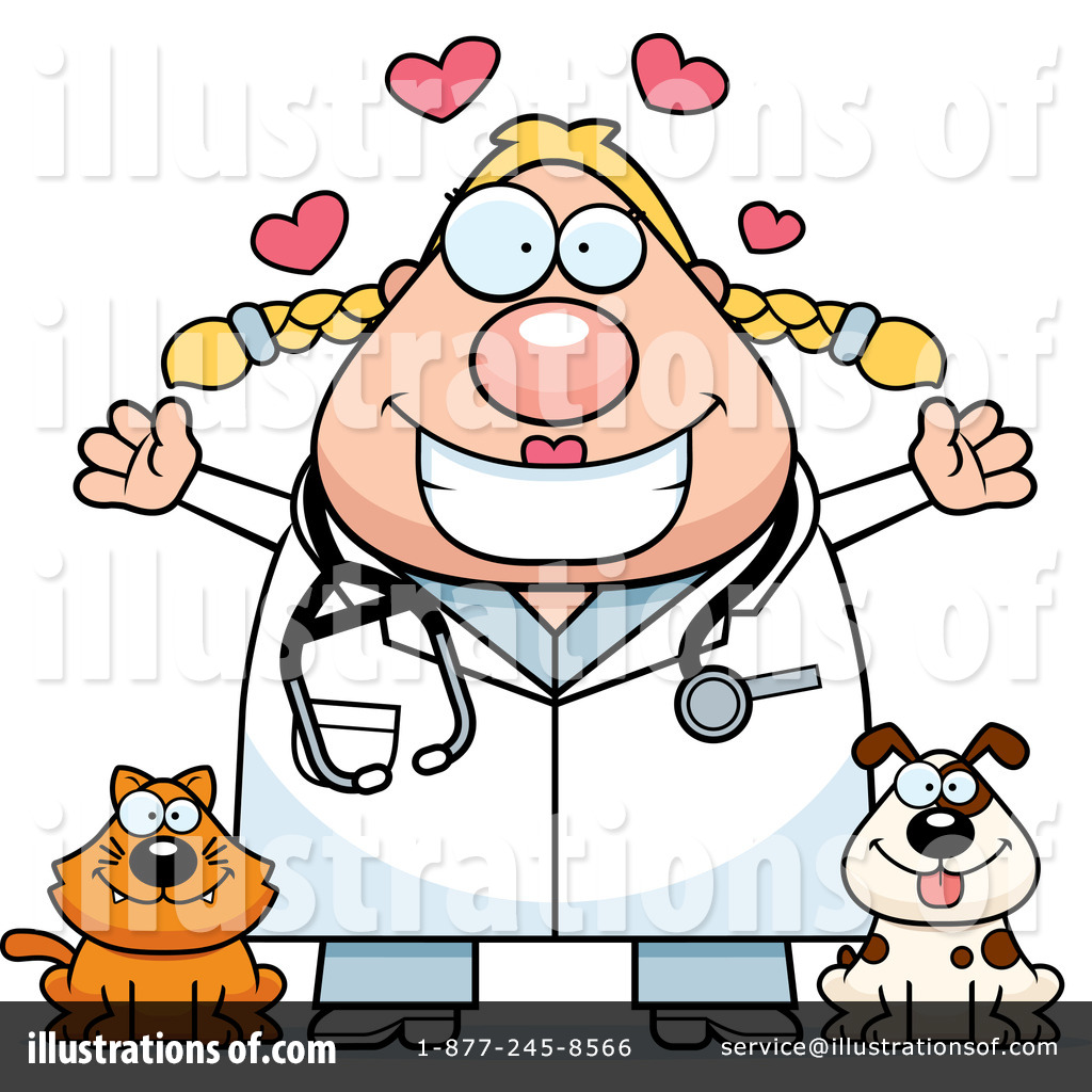 Royalty-Free (RF) Veterinarian Clipart I-Royalty-Free (RF) Veterinarian Clipart Illustration #1263251 by Cory Thoman-6