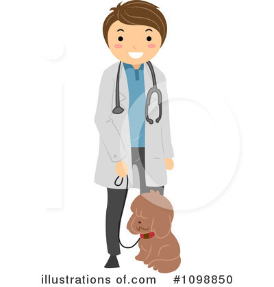Royalty-Free (RF) Veterinarian Clipart I-Royalty-Free (RF) Veterinarian Clipart Illustration by BNP Design Studio - Stock Sample-11