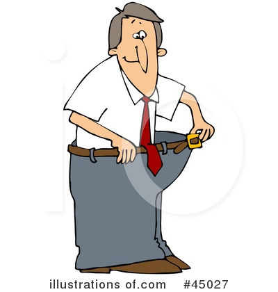 Royalty Free Rf Weight Loss Clipart Illustration By Djart Stock