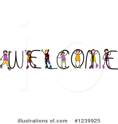 Royalty-Free (RF) Welcome Clipart Illustration by BNP Design Studio - Stock Sample