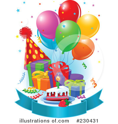 Royalty Free Vector Clip Art Illustration Of A Psychedelic Birthday