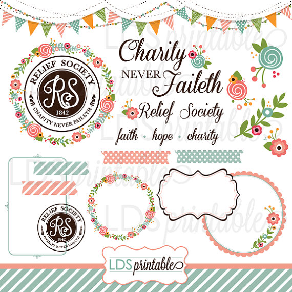 Rsca001 Lds Relief Society Clipart Clip -Rsca001 Lds Relief Society Clipart Clip Art Faith Hope Charity-13